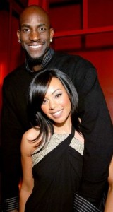 Kevin Garnett's Wife Brandi Garnett