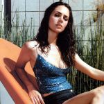 Rick Fox's girlfriend Eliza Dushku