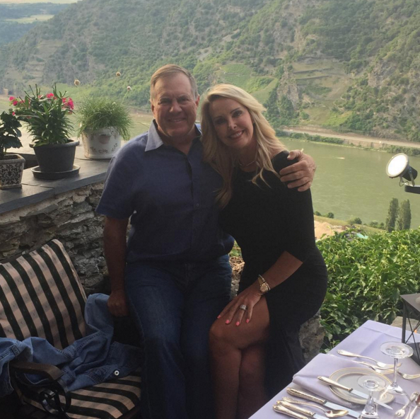 Bill Belichick's girlfriend Linda Holliday