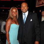 Derek Fisher's wife Candace Fisher @ blacksnob.com