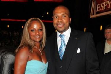 Derek Fisher's wife Candace Fisher @ blacksnob.com