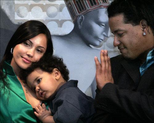 Manny Ramirez's wife Juliana Ramirez
