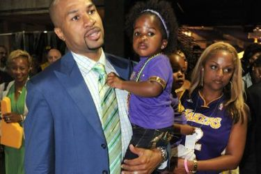 Derek Fisher's wife Candace Fisher @ theinsider.com