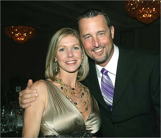 Tim Wakefield's wife Stacy Stover