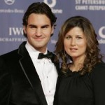 Roger Federer and his wife @ foxnews.com
