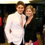 Roger Federer and his wife Mirka Vavrinec @ simonsaystennis.com