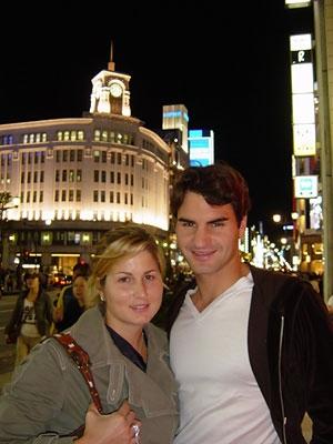 Roger Federer's wife Mirka (Miroslava) Vavrinec