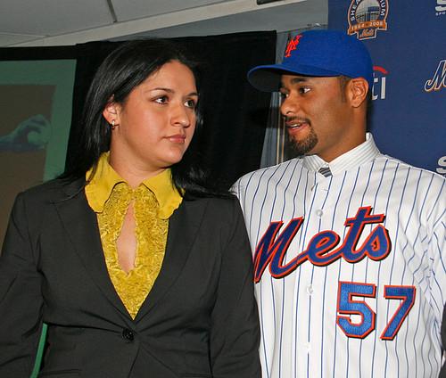 Johan Santana's wife Yasmile Santana