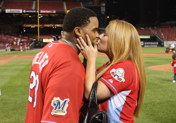 Prince Fielder Family Photo http://www.playerwives.com/mlb/detroit-tigers/prince-fielders-wife-chanel-fielder/