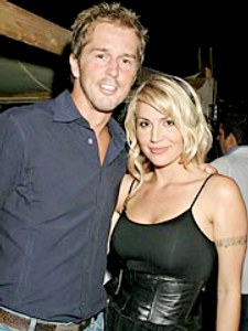 Mike Modano's wife Willa Ford
