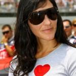 Juan Pablo Montoya's wife Connie Freydell @ allleftturns.com