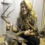 Chipper Jones' girlfriend Playmate Taylor Higgins