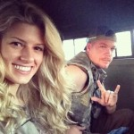 Chipper Jones' girlfriend Taylor Higgins