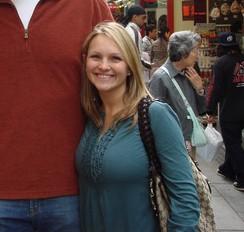 Brian Schneider's wife Jordan Schneider @ chrisyounginjapan.mlbblogs.com