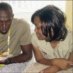 Usain Bolt's Wife @ jamaica-gleaner.com