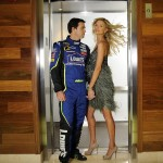 Jimmie Johnson's wife Chandra Johnson @ SI