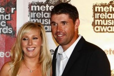 Padraig Harrington's wife Caroline Harrington @ zimbio.com