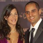 Juan Pablo Montoya's wife Connie Freydell @ zimbio.com