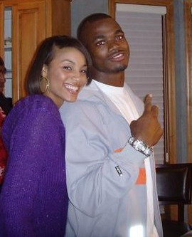 Adrian Peterson's wife Ashley Peterson