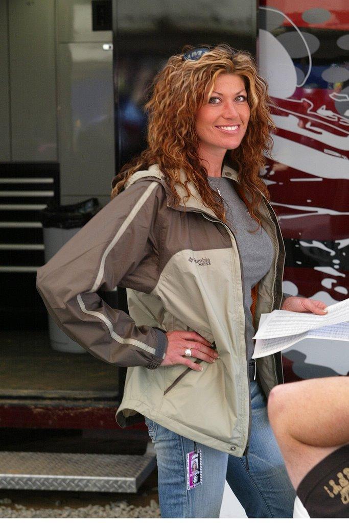 Brian Vickers girlfriend Erin Bates