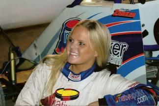 Tony Stewart's girlfriend Jessica Zemken