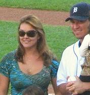 Magglio Ordonez's wife Dagly Ordonez