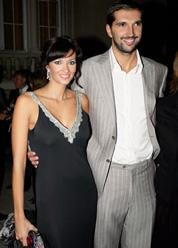 Peja Stojakovic's wife Aleka Kamila @ gloriamagazin.com