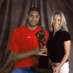 Tim Duncan's wife Amy Duncan @ hoopsvibe.com