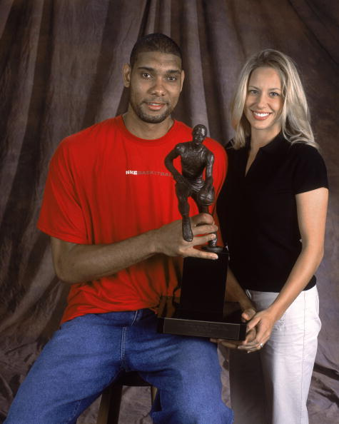 Tim Duncan's wife Amy Duncan