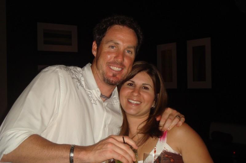 Joe Nathan's wife Lisa Nathan