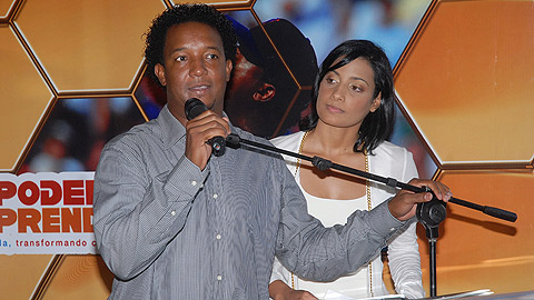 Pedro Martinez's wife Carolina Cruz de Martinez