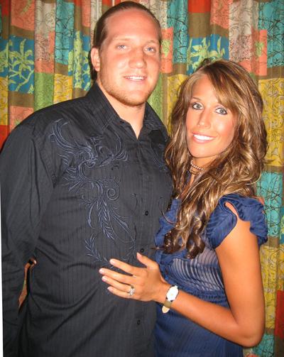 Aj Hawk S Wife Laura Hawk Brady Quinn S Sister Laura Hawk