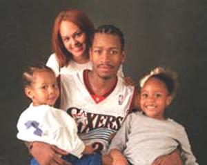 Allen Iverson's wife Tawanna Iverson