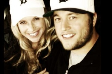 Matthew Stafford's girlfriend Kelly Hall - Twitter