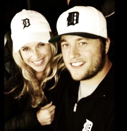 Matthew Stafford's wife Kelly Stafford