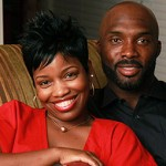 Derrick Mason and his wife Marci Mason @ baltimoreravens.com