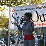 Derrick Mason's wife Marci Mason @ diabetes.org