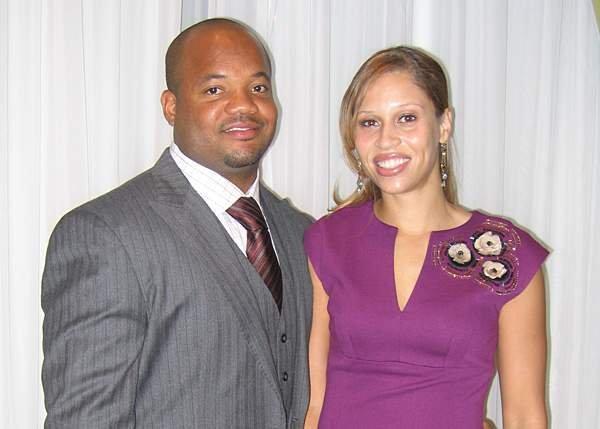 Gary Brackett's fiancee Ragan Kenner