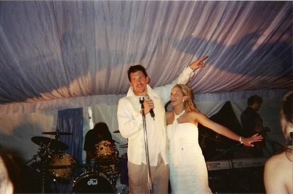 Dallas Clark's wife Karen Clark