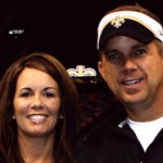 Sean Payton and his wife Beth Payton