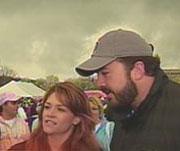 Jeff Saturday's wife Karen Saturday