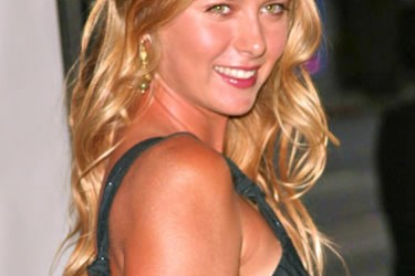 Sasha Vujacic's girlfriend Maria Sharapova @ askmen.com