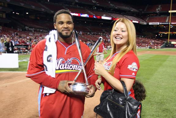 Cecil Fielder Wife http://www.playerwives.com/mlb/detroit-tigers/prince-fielders-wife-chanel-fielder/