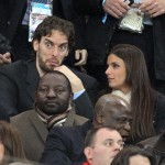 Pau Gasol's girlfriend Silvia Lopez Castro @ ABC