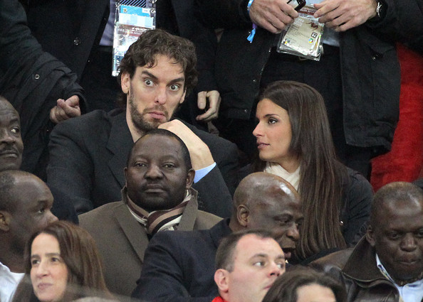 pau gasol girlfriend. Pau Gasol#39;s girlfriend Silvia