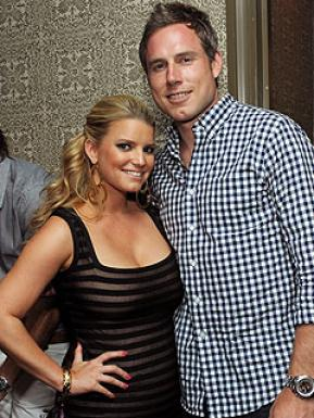 Eric Johnson's fiancee Jessica Simpson