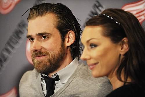 Henrik Zetterberg's wife Emma Andersson - PlayerWives.com