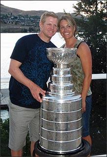Chris Osgood's wife Jenna Osgood