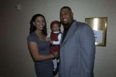 LaMarr Woodley's wife Jordan Woodley- Facebook