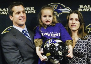 John Harbaugh's wife Ingrid Harbaugh